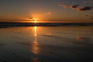 Sonnenaufgang Waihi Beach
